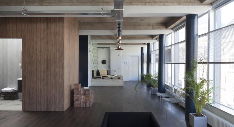 Inbouwpakket verandert kantoor in appartement de ingenieur