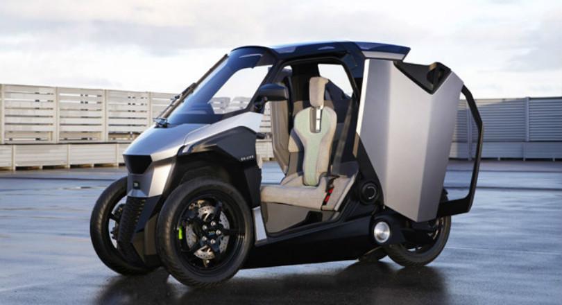 elektrische scooter haalt 130 km h de ingenieur. Black Bedroom Furniture Sets. Home Design Ideas