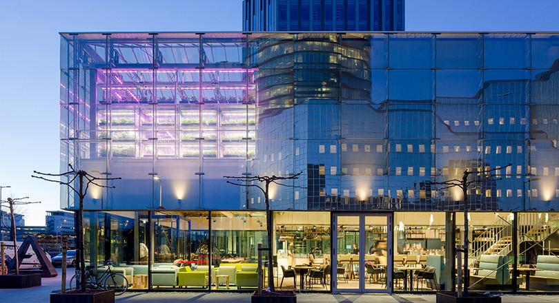 Facade De Restaurant circular restaurant in utrecht | de ingenieur