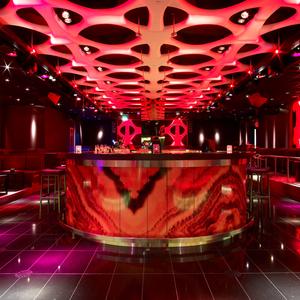 De Ultralounge van het Holland Casino Rotterdam (foto Holland Casino).