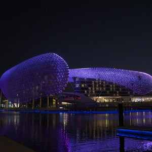 Yas Marina Hotel, Abu Dhabi.