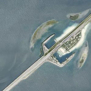 Impressie van de eilanden rond Breezanddijk