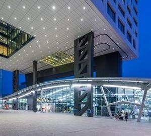 Het nieuwe stadskantoor. Foto Movares.