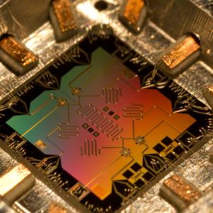 Een quantumchip