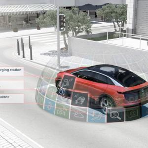 De nieuwe Volkswagen is is volledig verbonden.