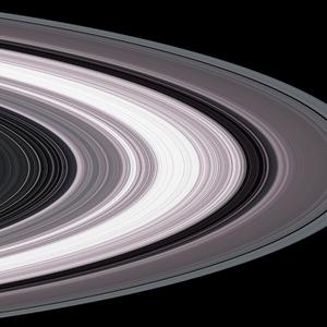 De ringen van Saturnus.