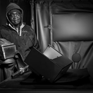 Tidiane Mara van metaalverwerker Oreel in Hallum.