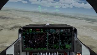 Simulatie van de JSF, gemaakt door NLR